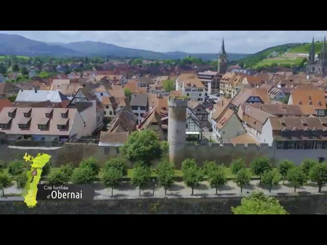 Route des Châteaux et Cités Fortifiées d'Alsace - Film officiel