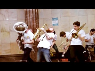 I Like To Move It - Mr Saxobeat - Satisfaction (Brevis Brass Band Cover)