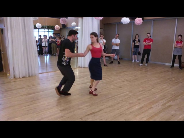 SWINGdepenDANCE 2016 - Stephen and Chandrae - LA Style Lindy
