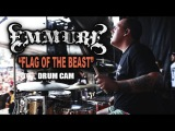 Emmure Flag of the Beast Drum Cam (LIVE)
