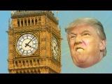 Donald Trump plays the Big Ben's last bing bongs