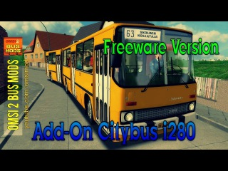 OMSI 2 • Add-On Citybus i280 (Ikarus 280.02) Freeware Version