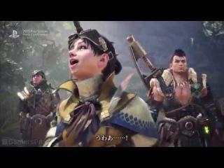 Monster Hunter World TGS 2017 Trailer HD