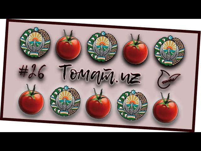 Лучшие узбекские помидоры! Обзор томатов Андрей_Счастье сыроедение фрукторианство raw