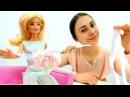 ЦВЕТОК из ЛЕНТ для Барби 🌺Мастер класс своими руками 🙌 Мастерская Барби