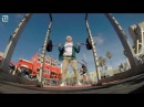 Grandpa shows up and puts Muscle Beach regulars to shame