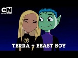Teen Titans | The Story of Beast Boy and Terra | Cartoon Network