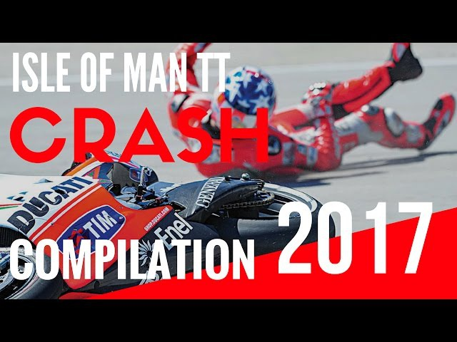 ISLE OF MAN TT crashes compilation 2017 ★ WHERE motorcycles FLY ✔️ IOM TT