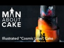 (man about) Illustrated Cakes: Cosmic Love | Man About Cake with Joshua John Russell