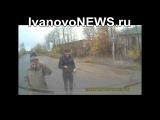 В Иванове двое на мотоцикле влетели на встречке в ГАЗель