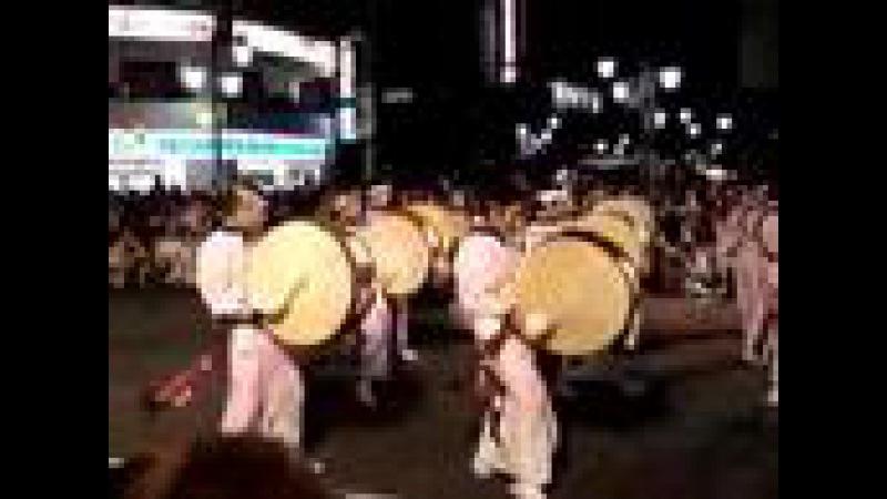 高円寺阿波踊り【忍連】お囃子隊