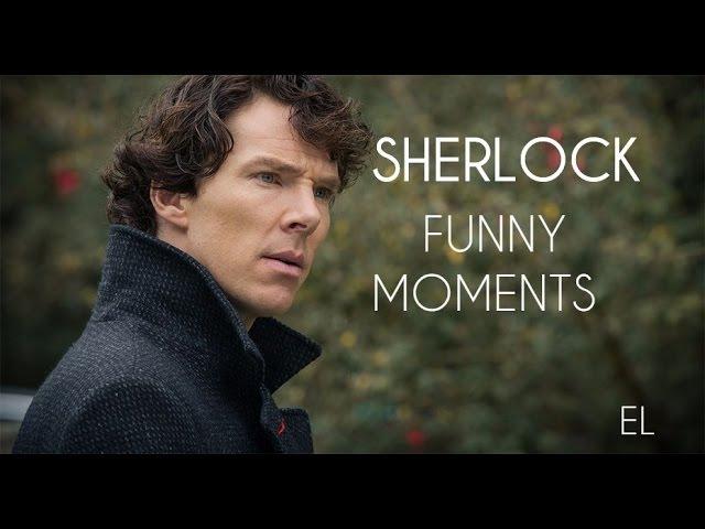 Sherlock | Шерлок | Смешные моменты1