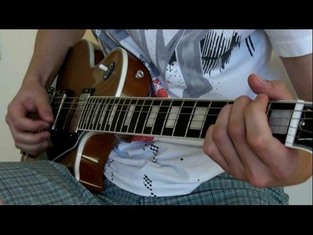 HammerFall - Never, Ever (Guitar Cover)