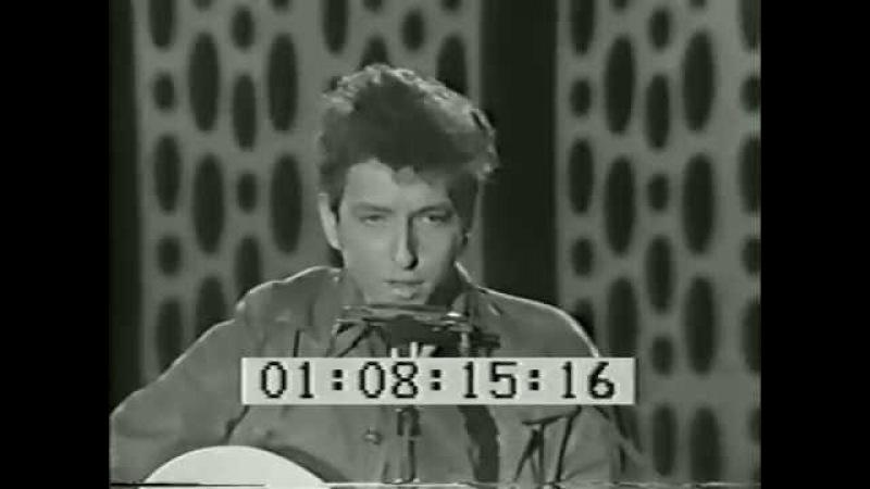 Bob Dylan The Lonesome Death of Hattie Carroll. Steve Allen Show Feb. 25, 1964.