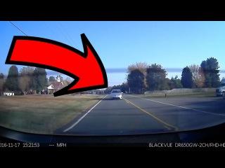 Как автопилот Теслы помогает избежать аварии.