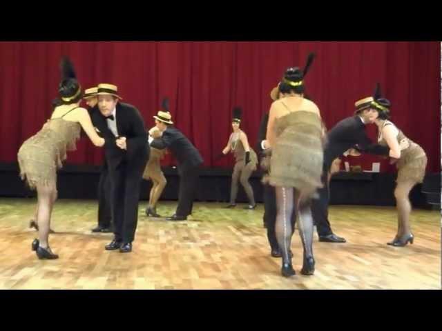 Vintage Club Showgruppe: Charleston-Routine (Shake that thing) - Hugo Strasser Ball 2. Februar 2013