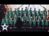 St. Patricks Junior Choir Drumgreenagh roar onto BGT Semi-Final 1 Britains Got Talent 2017