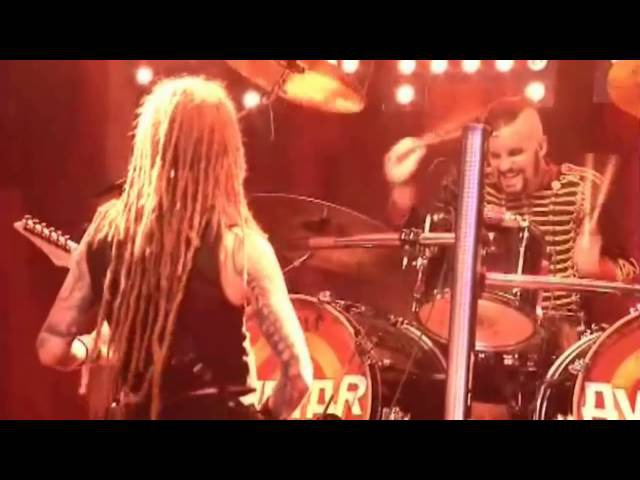 Avatar - Paint Me Red (Live at Wacken Open Air 2015 / Proshot)