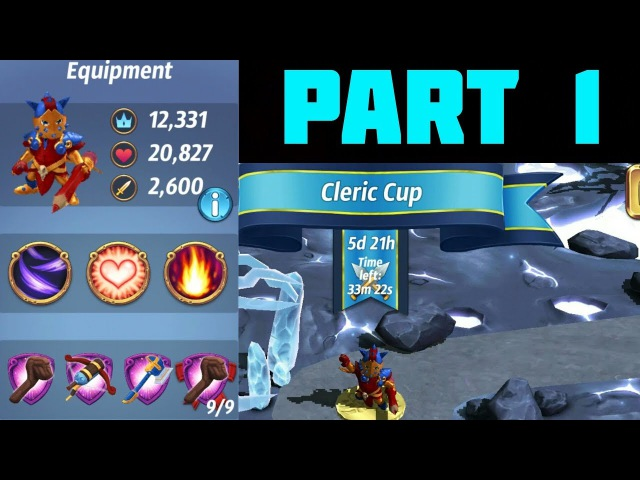 ROYAL REVOLT 2 - CLERIC CUP - Pro league gameplay (1)