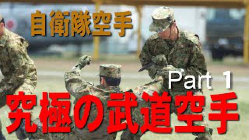 究極の武道空手(自衛隊空手 )Part 1沖縄空手の継承