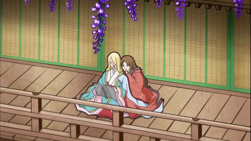 [AniDub] Chouyaku Hyakunin Isshu: Uta Koi | Сто стихотворений ста поэтов: Поэма о любви[11] [Shina, Wolfys]