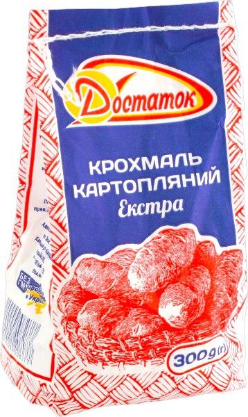 Крохмаль картопляний екстра, Достаток, 300 г