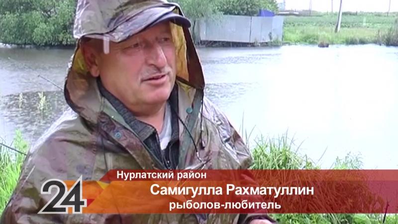 Рыбак из Нурлата рассказал о своем самом крупном улове