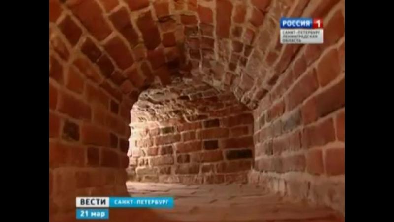 Реставраторы закончили восстановление внутренней кладки Ростральных колонн