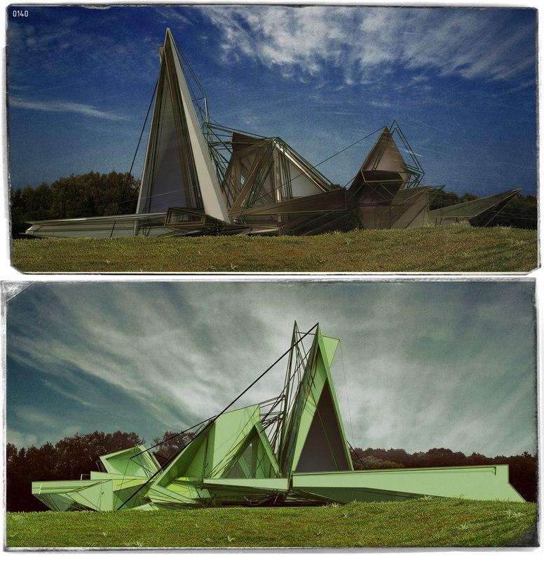 Работ от подписчика #exterior_Arch_blog Автор: Степан Журавлев