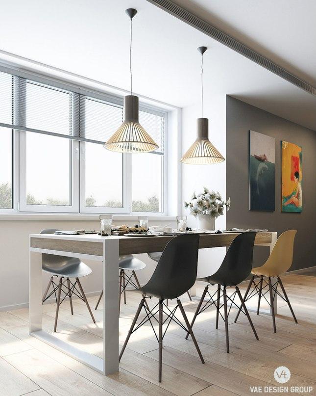 Кухня - гостиная - столовая  ________________________ Посмотреть проект