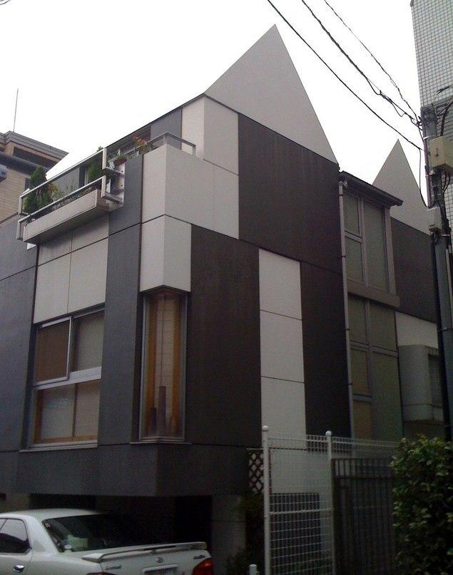 Takefumi Aida Toy-Block House — Shibuya, Tokyo, 1974-1984  С