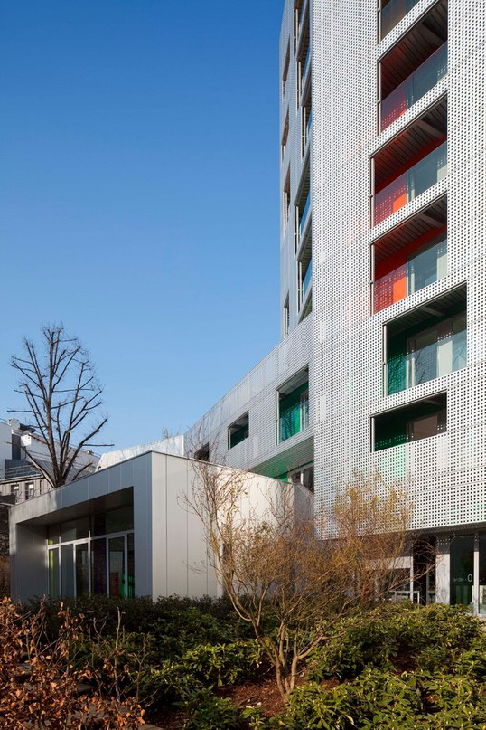 #exterior_Arch_blog  Young Workers Residence aasb_agence d'architecture suzelbrout France 2011