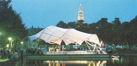 Fumihiko Maki and Associates Floating Pavilion — Плавучая