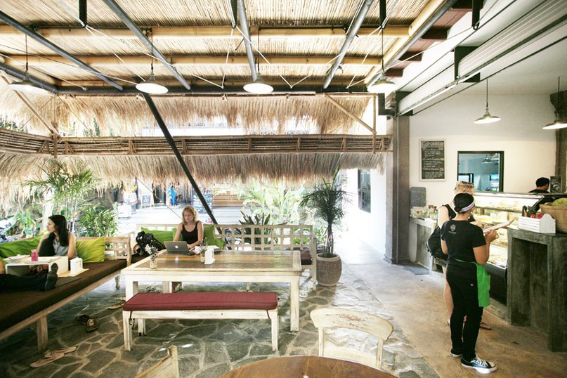 alexis dornier crafts vegan restaurant in bali