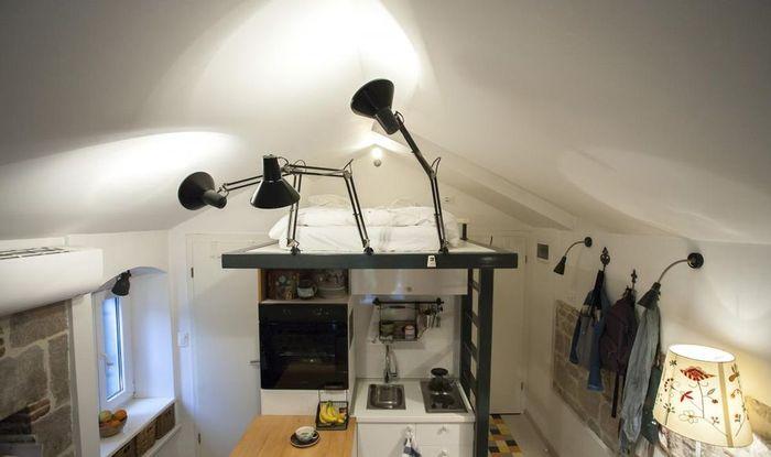 Часть 2. Жить на чердаке: комфортабельная квартира,