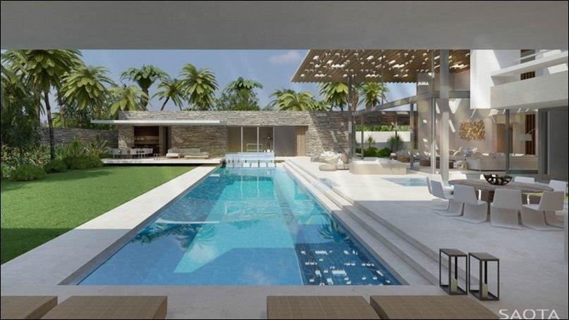 Современный проект Dream Homes от SAOTA  DCS7 Residence