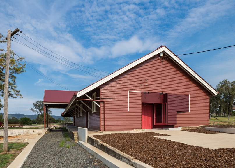 PHAB Architects transforms 1920s packing shed into