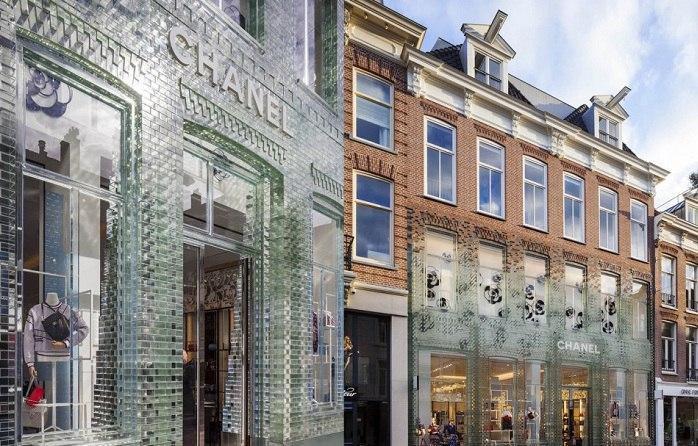 Крепче, чем бетон: фасад бутика из инновационного