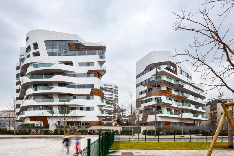 Часть 2. Комплекс апартаментов в Милане от