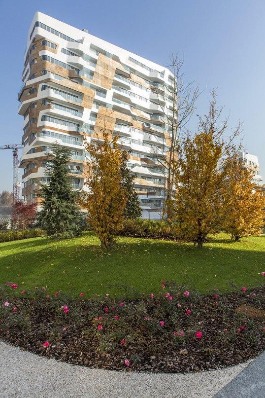 Часть 1. Комплекс апартаментов в Милане от