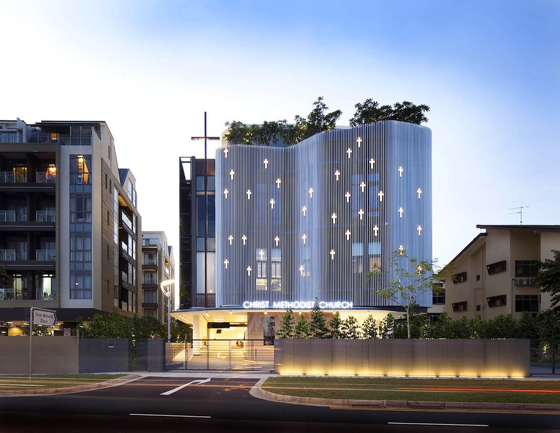 Архитектурная фирма K2LD Architects разработала проект церкви