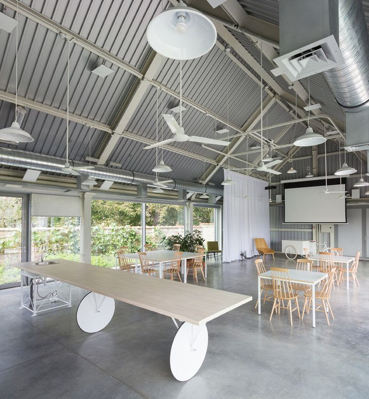 autori references local sheds to create light-filled