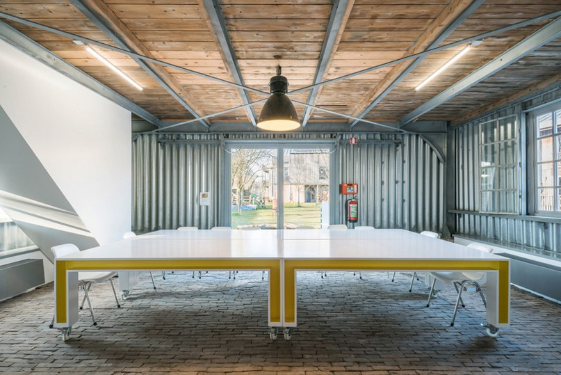 polylester develops light-hearted interior for UNESCO site