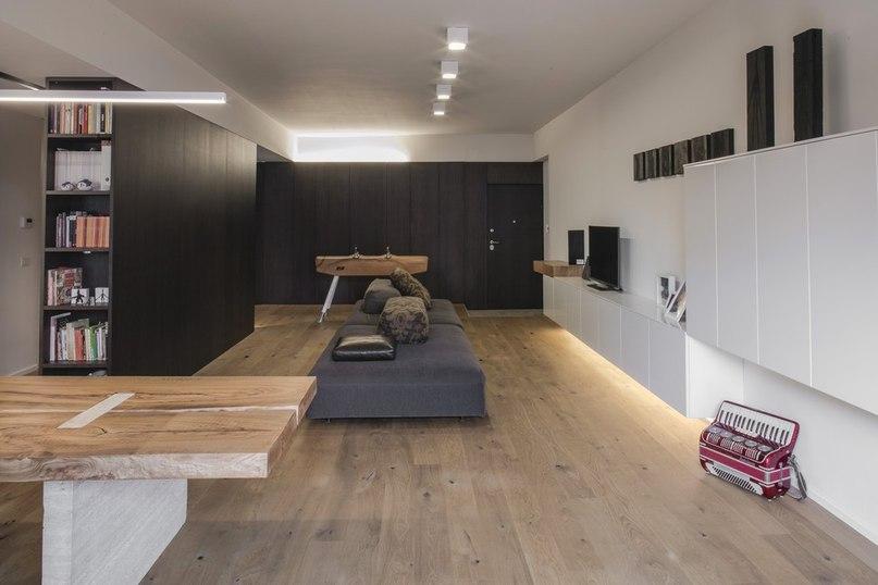 Часть 2. Интерьер квартиры в Риме Студия Fabio