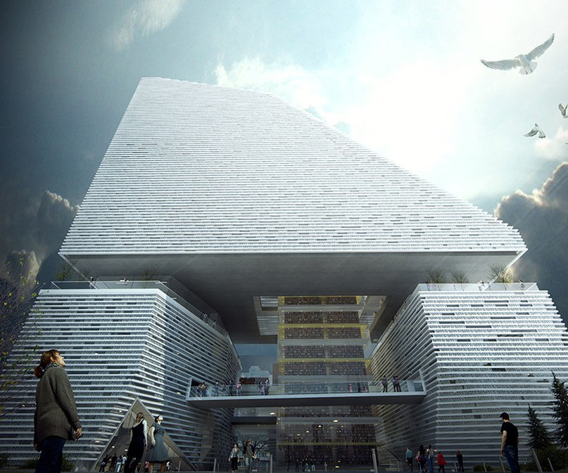 theeAe creates monolithic inside out concept for