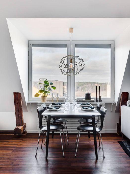 Часть 1. Как оформить квартиру-мансарду: 51 квадратный