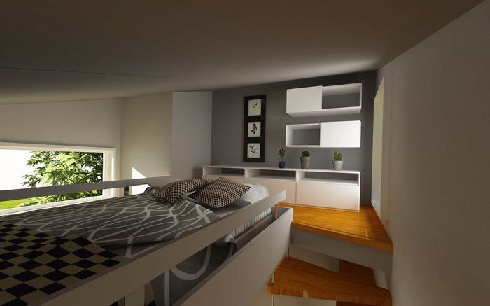 Дом размером с гостиную: 10 квадратных метров