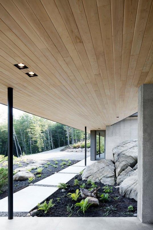 Часть 2. Дом La Heronniere в Канаде