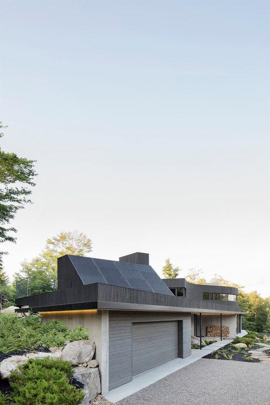 Часть 1. Дом La Heronniere в Канаде
