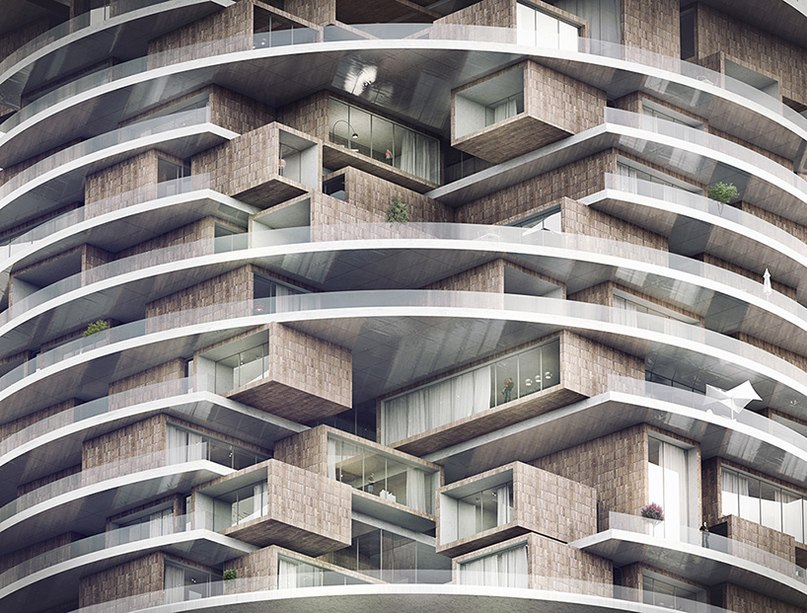 farmanieh residential concept by ZAAD studio